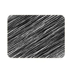 Background Structure Pattern Double Sided Flano Blanket (mini)