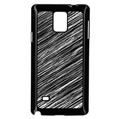 Background Structure Pattern Samsung Galaxy Note 4 Case (black)