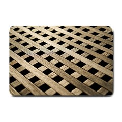 Texture Wood Flooring Brown Macro Small Doormat