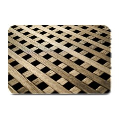 Texture Wood Flooring Brown Macro Plate Mats by Nexatart