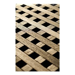Texture Wood Flooring Brown Macro Shower Curtain 48  X 72  (small)  by Nexatart