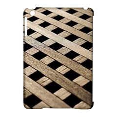 Texture Wood Flooring Brown Macro Apple Ipad Mini Hardshell Case (compatible With Smart Cover) by Nexatart