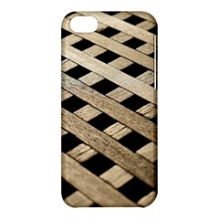 Texture Wood Flooring Brown Macro Apple Iphone 5c Hardshell Case