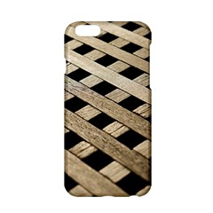 Texture Wood Flooring Brown Macro Apple Iphone 6/6s Hardshell Case by Nexatart