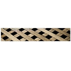 Texture Wood Flooring Brown Macro Flano Scarf (large) by Nexatart