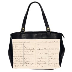 German French Lecture Writing Office Handbags (2 Sides)  by Nexatart