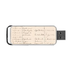 German French Lecture Writing Portable Usb Flash (one Side) by Nexatart