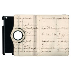 German French Lecture Writing Apple Ipad 3/4 Flip 360 Case by Nexatart