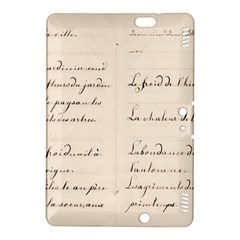 German French Lecture Writing Kindle Fire Hdx 8 9  Hardshell Case by Nexatart