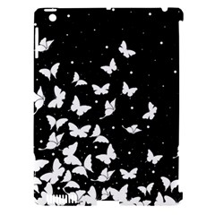 Butterfly Pattern Apple Ipad 3/4 Hardshell Case (compatible With Smart Cover) by Valentinaart