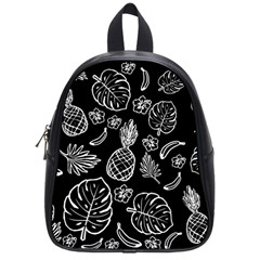 Tropical Pattern School Bags (small)  by Valentinaart