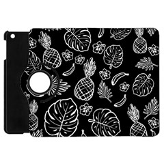 Tropical Pattern Apple Ipad Mini Flip 360 Case by Valentinaart