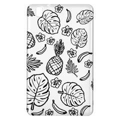 Tropical Pattern Samsung Galaxy Tab Pro 8 4 Hardshell Case by Valentinaart