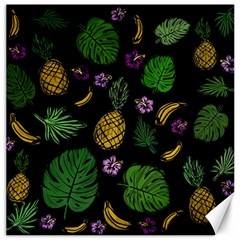 Tropical Pattern Canvas 16  X 16   by Valentinaart