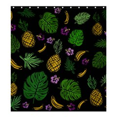 Tropical Pattern Shower Curtain 66  X 72  (large)  by Valentinaart