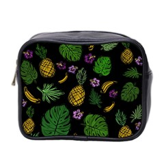 Tropical Pattern Mini Toiletries Bag 2 Side by Valentinaart