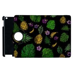 Tropical Pattern Apple Ipad 3/4 Flip 360 Case by Valentinaart