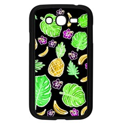 Tropical Pattern Samsung Galaxy Grand Duos I9082 Case (black) by Valentinaart