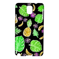 Tropical Pattern Samsung Galaxy Note 3 N9005 Hardshell Case by Valentinaart