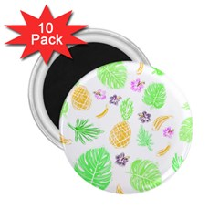 Tropical Pattern 2 25  Magnets (10 Pack)  by Valentinaart