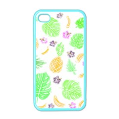 Tropical Pattern Apple Iphone 4 Case (color) by Valentinaart