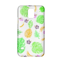 Tropical Pattern Samsung Galaxy S5 Hardshell Case  by Valentinaart