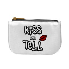 Kiss And Tell Mini Coin Purses by Valentinaart