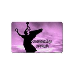 Berlin Magnet (name Card) by Valentinaart