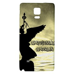 Berlin Galaxy Note 4 Back Case by Valentinaart