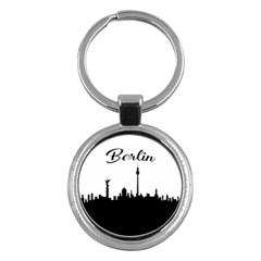 Berlin Key Chains (round)  by Valentinaart