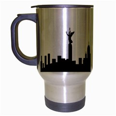 Berlin Travel Mug (silver Gray) by Valentinaart