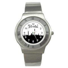 Berlin Stainless Steel Watch by Valentinaart
