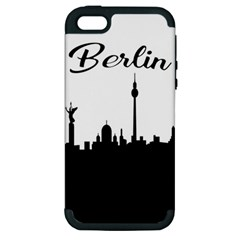 Berlin Apple Iphone 5 Hardshell Case (pc+silicone) by Valentinaart