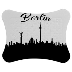 Berlin Jigsaw Puzzle Photo Stand (bow) by Valentinaart