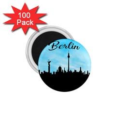 Berlin 1 75  Magnets (100 Pack)  by Valentinaart
