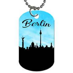 Berlin Dog Tag (two Sides) by Valentinaart