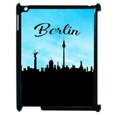 Berlin Apple Ipad 2 Case (black) by Valentinaart