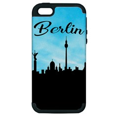 Berlin Apple Iphone 5 Hardshell Case (pc+silicone)