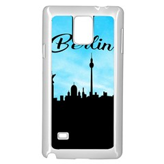 Berlin Samsung Galaxy Note 4 Case (white) by Valentinaart