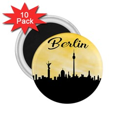 Berlin 2 25  Magnets (10 Pack)  by Valentinaart