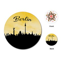 Berlin Playing Cards (round)  by Valentinaart