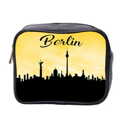 Berlin Mini Toiletries Bag 2 Side by Valentinaart