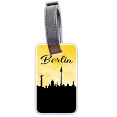Berlin Luggage Tags (two Sides) by Valentinaart