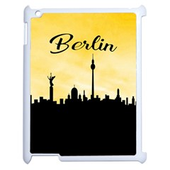 Berlin Apple Ipad 2 Case (white) by Valentinaart