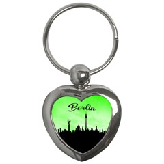 Berlin Key Chains (heart)  by Valentinaart