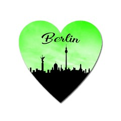 Berlin Heart Magnet by Valentinaart