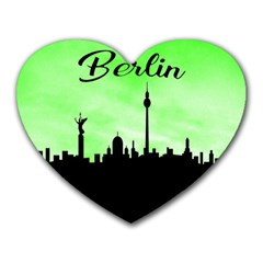 Berlin Heart Mousepads by Valentinaart