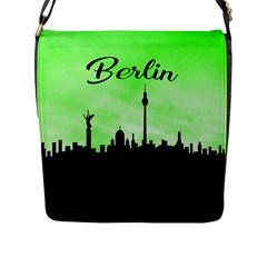Berlin Flap Messenger Bag (l)  by Valentinaart