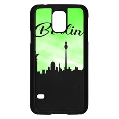 Berlin Samsung Galaxy S5 Case (black) by Valentinaart