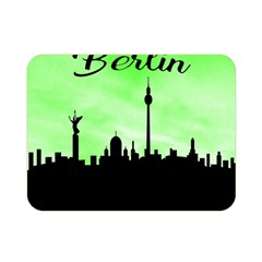 Berlin Double Sided Flano Blanket (mini)  by Valentinaart